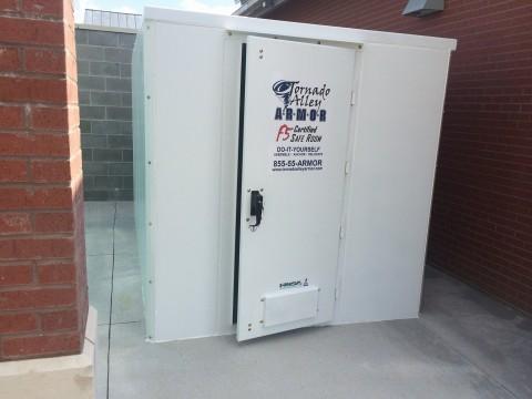 Recent blog posts tornado alley armor safe rooms for Safe room dimensions