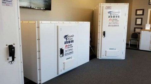 The Tornado Alley Armor Allegiant LP (Low Profile) Safe Room. Do You Have A  Spot In Your Closet Under The Stairs That Youu0027d Like To Use For Your ...