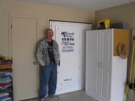 Photo gallery for Garage safe room