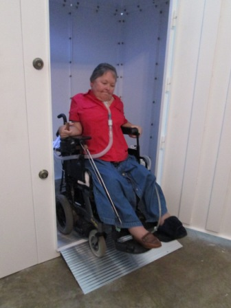 Photo gallery for Wheelchair accessible doorways