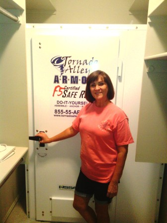 Bartlesville_OK_bolt_together_Champion_in_closet_by_Tornado_Alley_Armor_Safe_Rooms