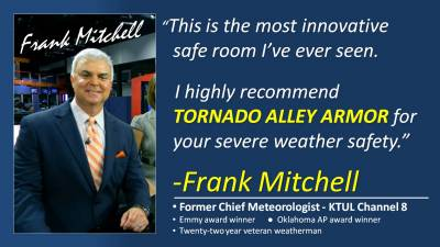 Meteorologist Frank Mitchell knows severe weather  Trust the