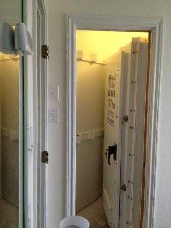 Perfect Closet Install Tornado Alley Armor Bolt Together Safe Room. Detail